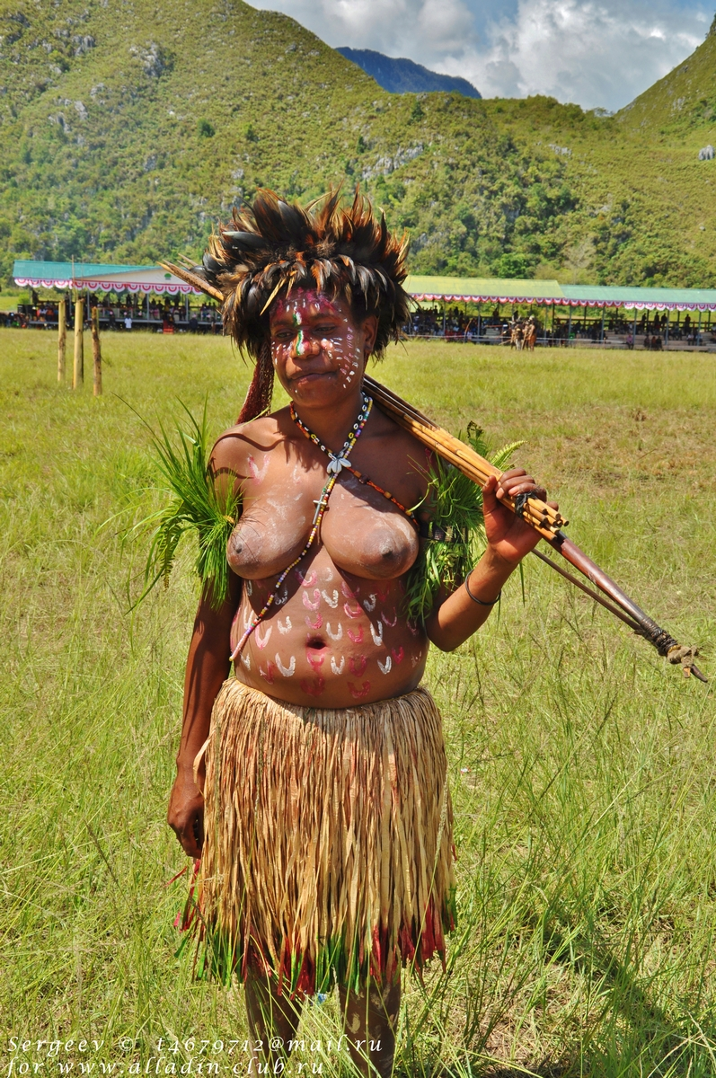 фото черных членов папуасов